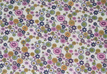 Duck Flower printing fabric
