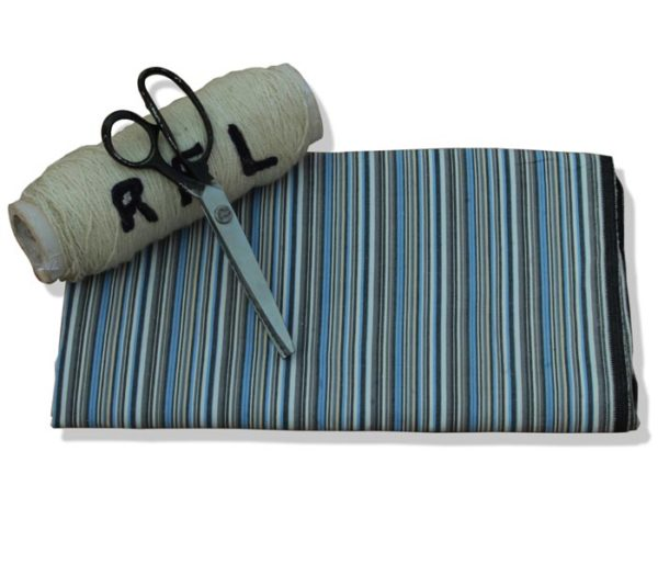 Unstitched Stripe Fabric for Men's