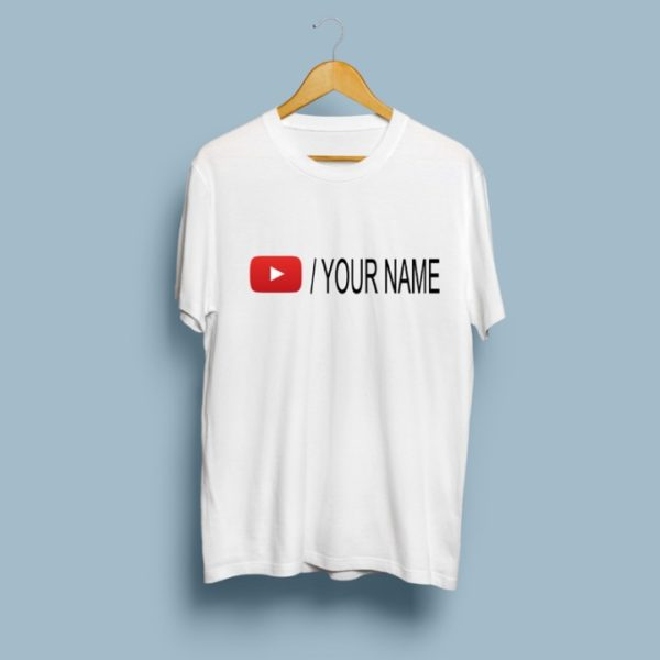 Youtuber Channel Name T-Shirt