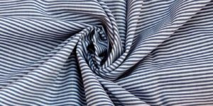 Unstitched Yarn Dyed Striped Fabric