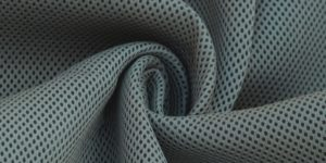Grey Air Mesh Fabric