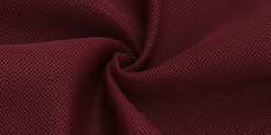 Maroon Air Mesh Fabric