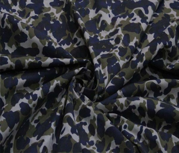 camouflage print fabric