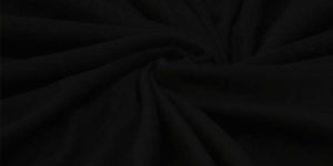 Black Polar knitted Light Weight Fleece Fabric