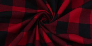 Yarn Dyed Cotton Tom-Tom Red Check Fabric