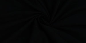 Black Twill Cotton Fabric