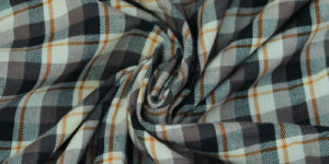 Unstitched Yarn Dyed Cotton Check Fabric